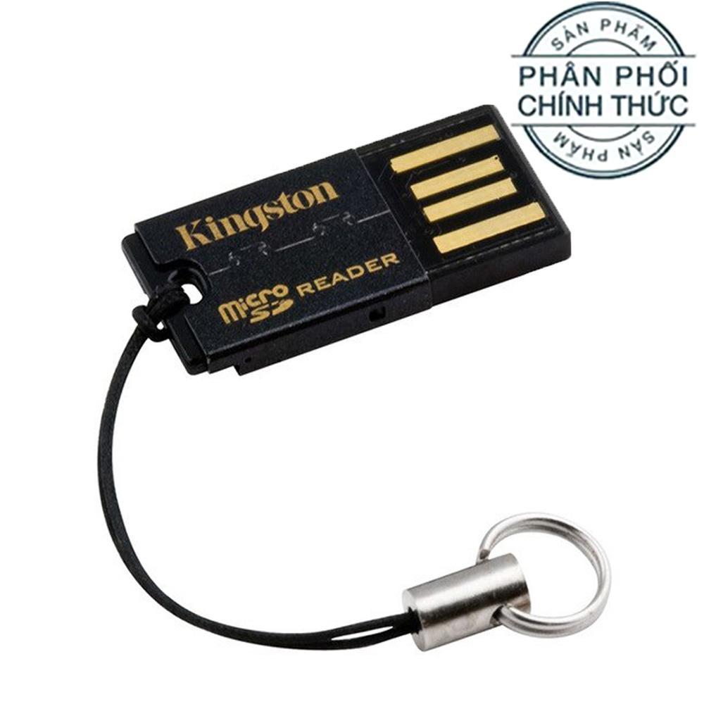 Đầu đọc thẻ nhớ MicroSD USB 2.0 Kingston FCR-MRG2 - Hãng Phân Phối Chính Thức