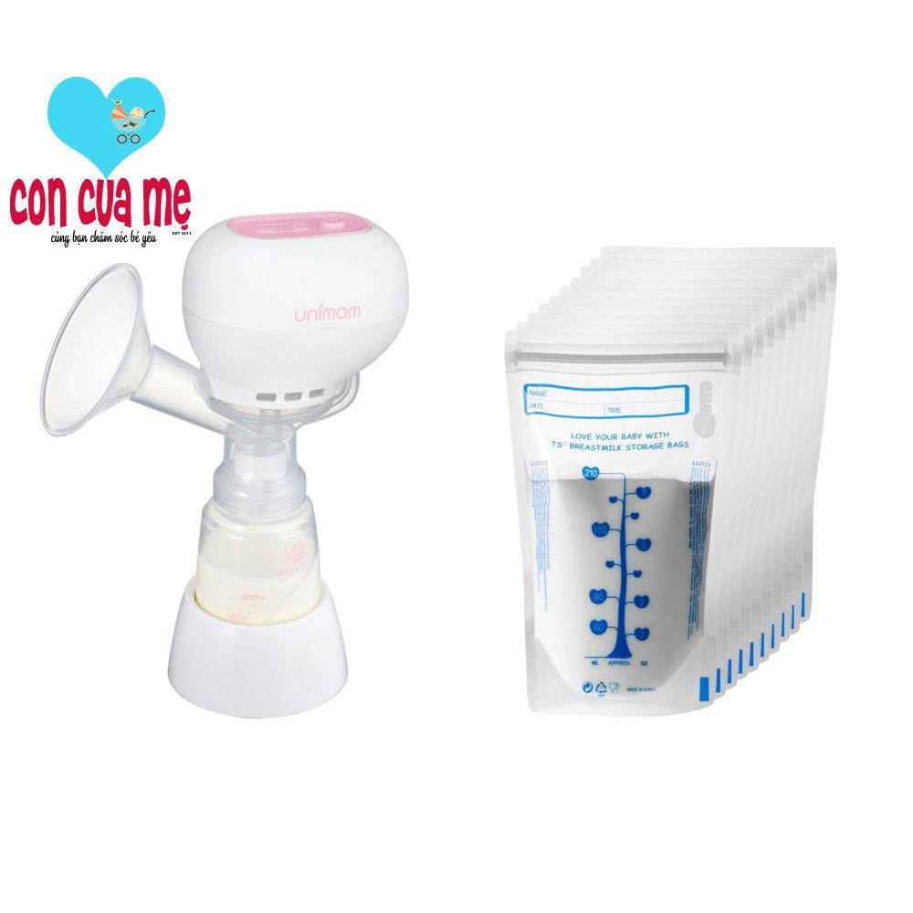 Bộ Máy Hút Sữa Mẹ Điện Tử Unimom K-Pop 871098