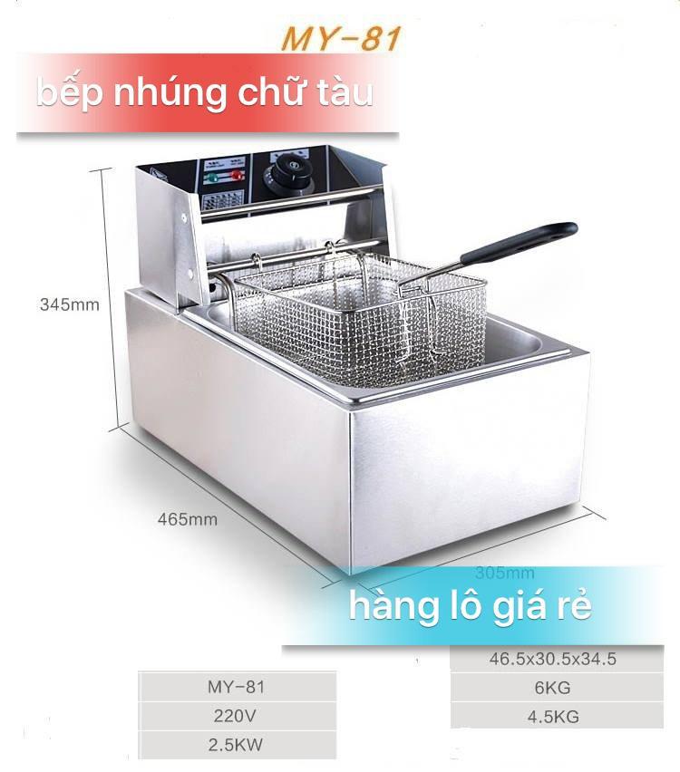 Bếp Chien Nhúng 81 - Tiếng Trung