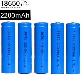 Bộ 5 Pin sạc 18650 LSY công suất thực 2200MAH dùng cho Box sạc, cell laptop, đèn pin, mic...hiệu suất chuyển đổi năng lượng cao (5 viên) thumbnail