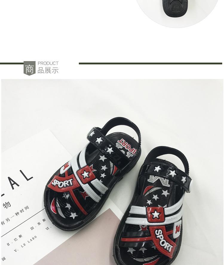 Sandals bé trai thời trang