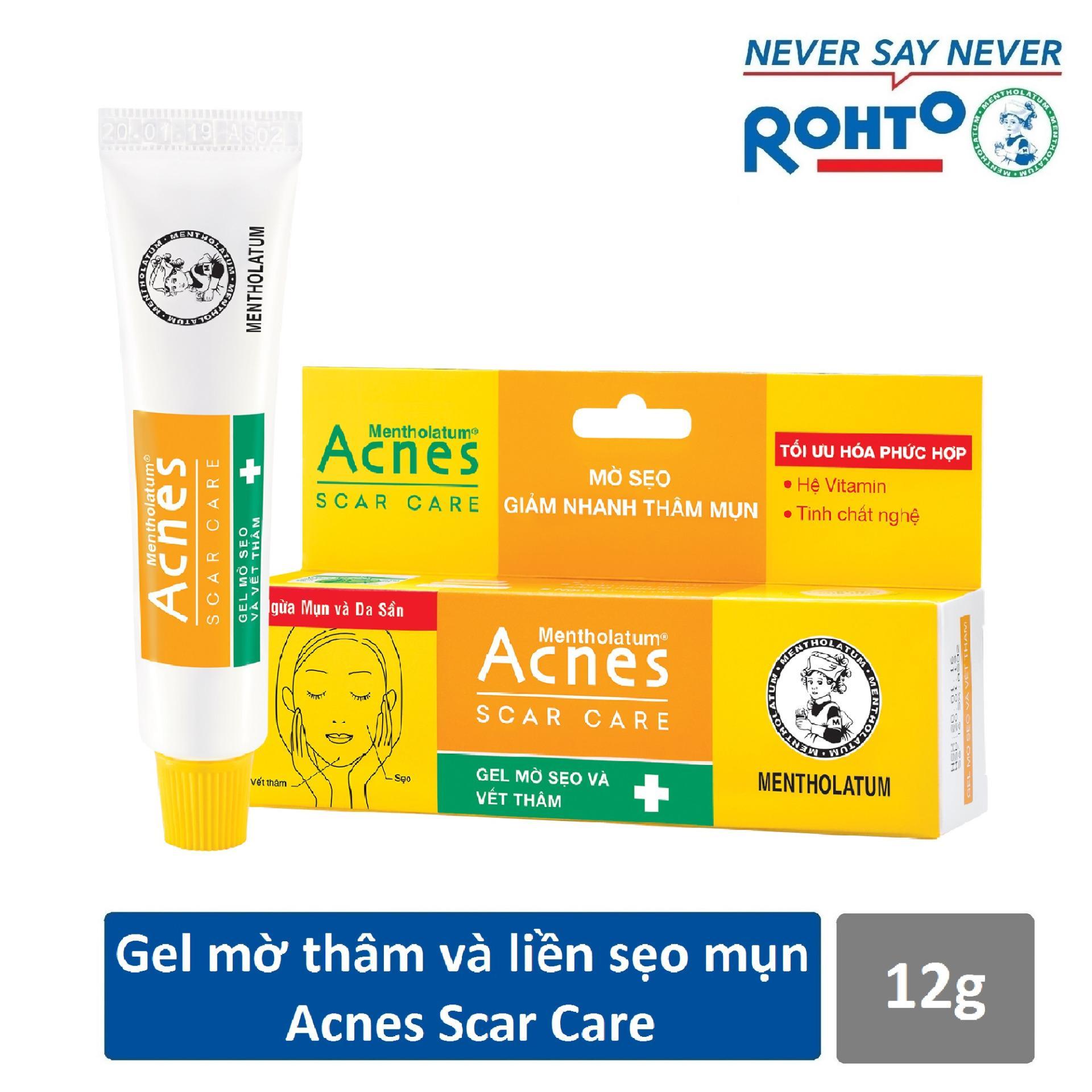 Gel mờ vết thâm và liền sẹo Acnes Scar Care 12g