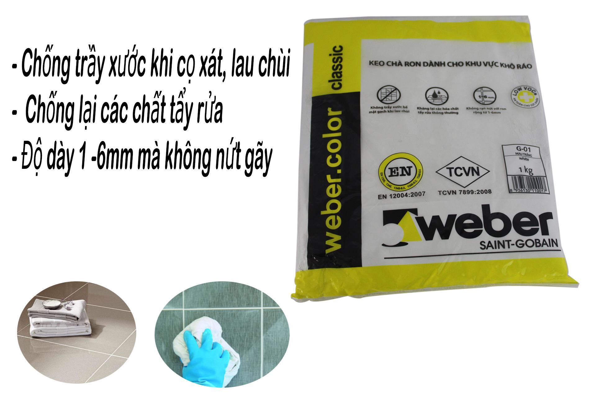 KEO CHÀ RON WEBER - CÔNG NGHỆ THAILAND