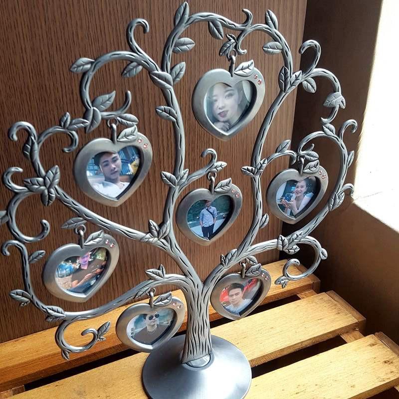 Cây treo ảnh kỉ niệm trang trí nhà cửa để bàn