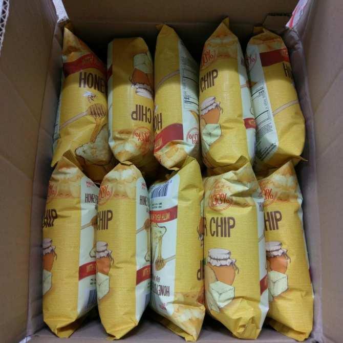Hình Ảnh Snack Khoai Tây Vị Bơ Mật Ong Haitai - Honey Butter Chip