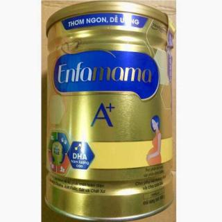 Sữa bột Enfamama A+ dành cho bà mẹ mang thai và cho con bú - Hộp thiếc 900g - Vị Vani thumbnail