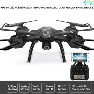 Máy bay quay phim điều khiển từ xa Flycam Aerocraft W880-29 camera 2MP cho người mới chơi thumbnail