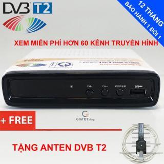 Rẻ vô địch Đầu thu kỹ thuật số DVB T2 LTP STB-1306 tặng Anten DVB T2 thumbnail