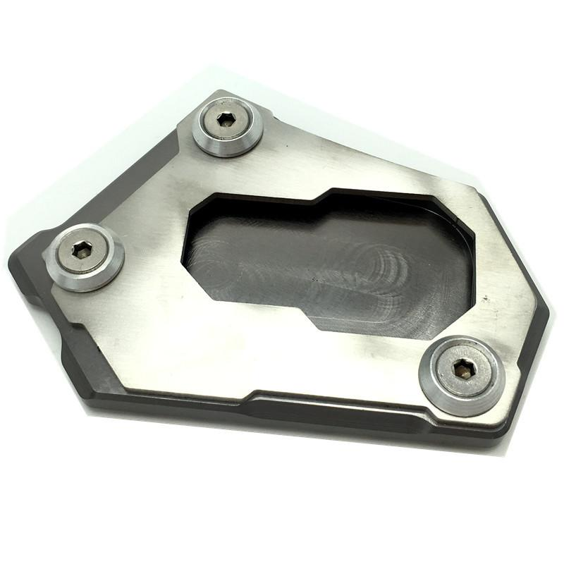 CNC Side Kickstand Stand Extension Plate for BMW R1200GS LC K50 2012-2016