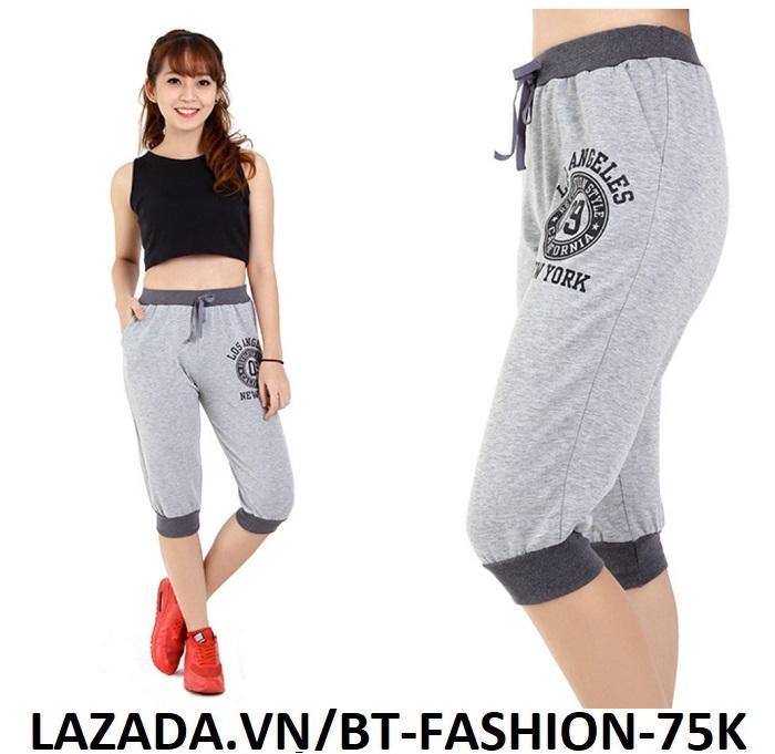 Quần Thun Thể Thao Nữ Jogger Thời Trang  Hàn Quốc Mới- BT Fashion (JO02-LOS)