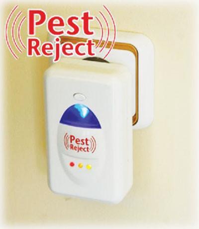 Máy đuổi muỗi côn trùng bằng sóng siêu âm Pest Reject