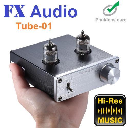 FX Audio TUBE-01 6J1 [Preampli Đèn] Nâng Cấp Chất Lượng Âm Thanh