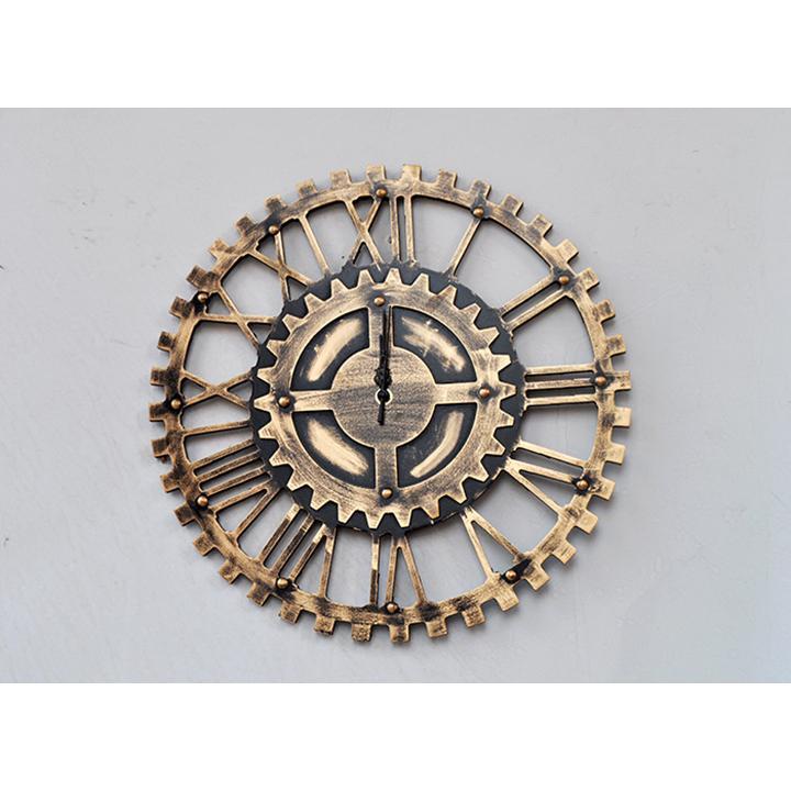 Đồng hồ treo tường phong cách cổ Bánh Răng