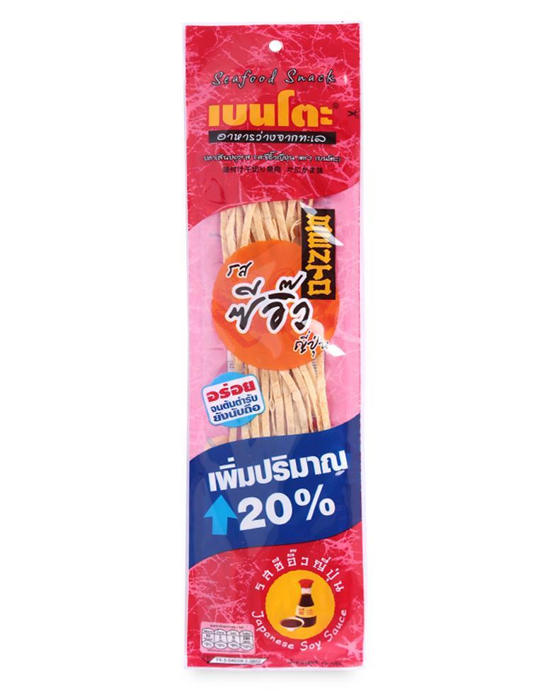Snack Hải Sản Tẩm Gia Vị Nước Tương Nhật Bento Gói 15G
