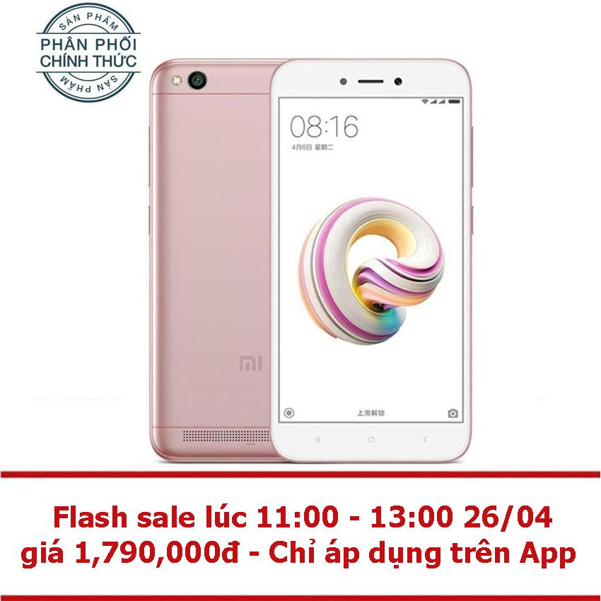 Xiaomi Redmi 5A 16GB Ram 2GB (Vàng hồng) - Hãng...