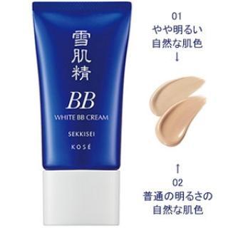 Kem nền trang điểm Kose Sekkisei White BB Cream SPF40 PA++++ 30g - Japan thumbnail