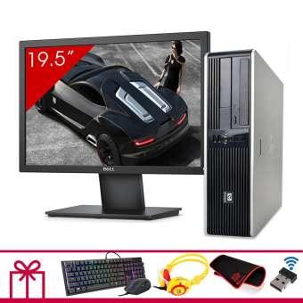 Máy tính để bàn HP DC 5800 SFF + Màn hình Dell 19.5inch (Core 2 Duo E8400, Ram 8GB, HDD 1TB) + Quà Tặng - Hàng Nhập Khẩu