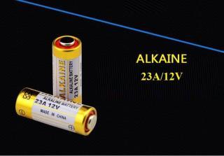 Bộ 2 pin ALKALINE cao cấp tuổi thọ cao 23A 12V cho cửa cuốn ,chuông cư a, điều khiển từ xa sóng radio RF,bu t tri nh chiê u... thumbnail