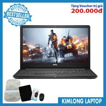 """Laptop Dell Inspiron N3567Q : I5-7200U  8GB RAM  1TB HDD  HD Graphics 620  15.6"""" HD  Win 10  Black - KimLongLaptop"""