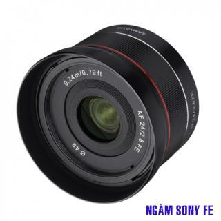 Ống kính Samyang AF 24mm f 2.8 FE dùng cho SONY thumbnail