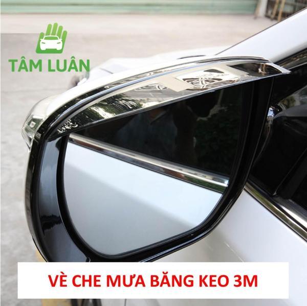 Bộ 2 tấm vè che chắn mưa, giảm chói cho gương chiếu hậu ô tô xe hơi - phụ kiện oto - Bảo vệ gương , tiện tích xe hơi