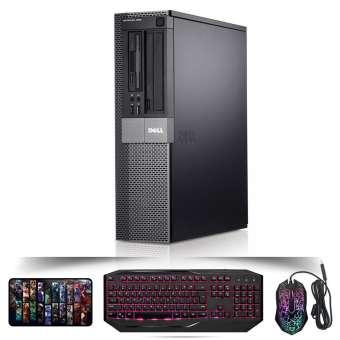 Thùng máy tính Dell Optiplex 960 DT CPU Q6600, 8GB, SSD 240GB, HDD 1TB (Tặng bàn phím, chuột, lót chuột)- Hàng Nhập Khẩu