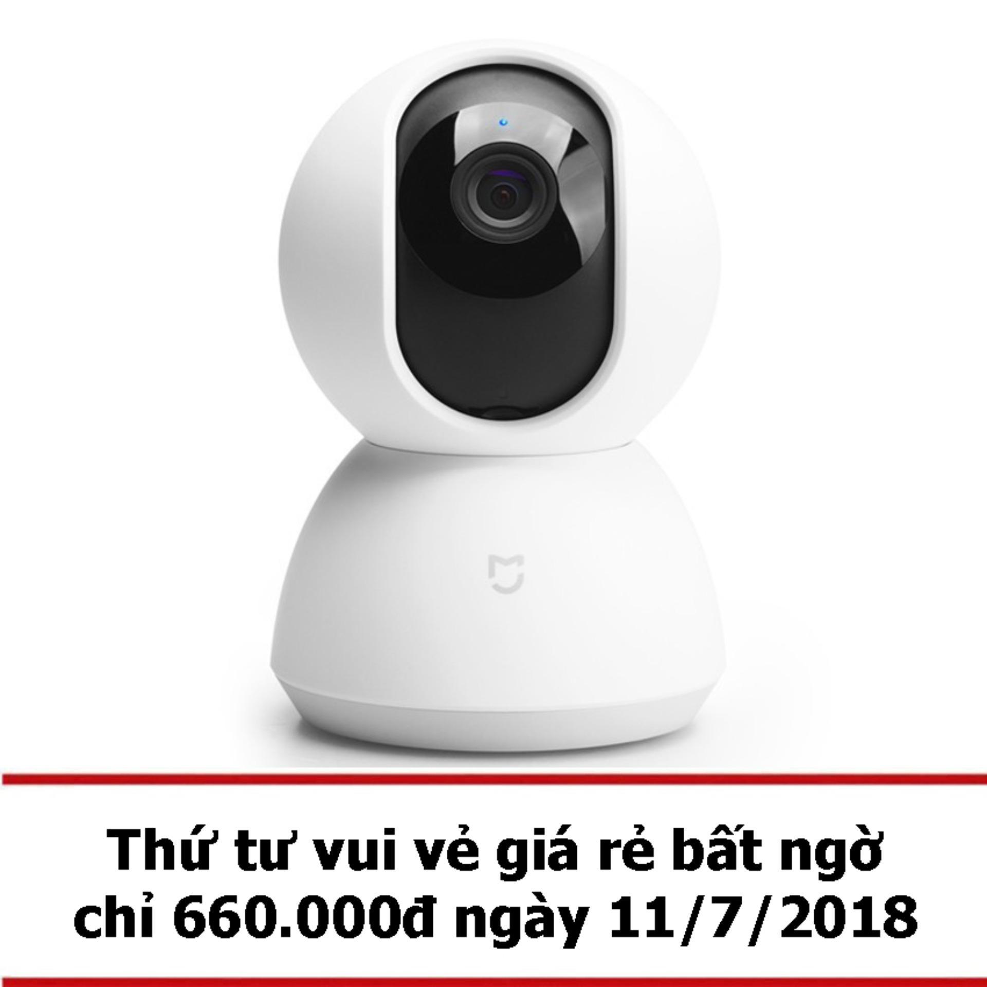 Camera IP Xiaomi Home 360 HD 2017 PTZ (Trắng) -...