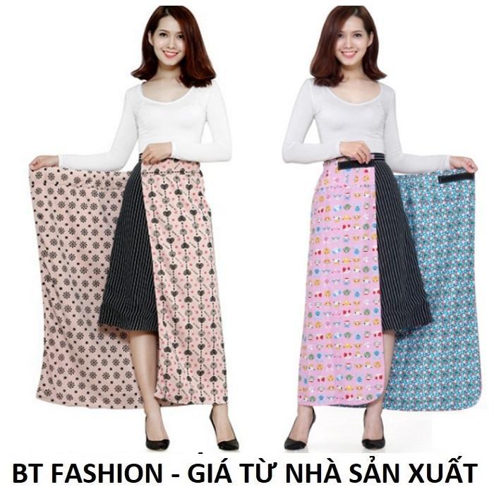 Váy Chống Nắng (Loại Tốt) 2 Lớp + 2 Mặt, Có Túi Tiện Lợi - BT Fashion - Giao màu ngẫu nhiên (VCN01)