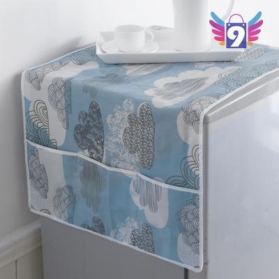 Khăn trải tủ lạnh 9STORE tiện lợi 6 ngăn