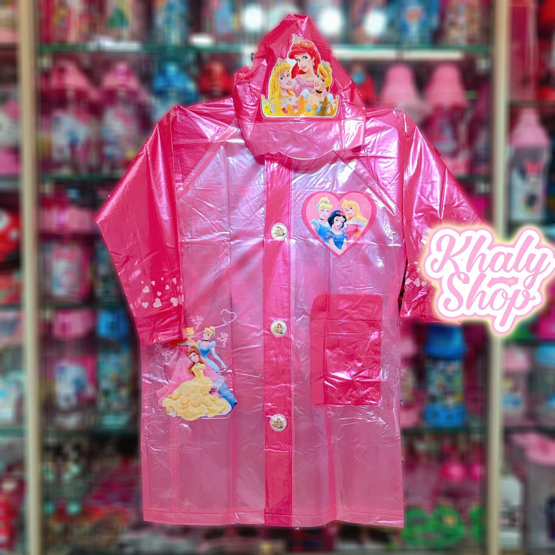 Áo mưa bóng hình công chúa Princess Disney màu hồng dành cho trẻ em có nhiều size (S-M-L-XL-XXL) - 36PRIN6026138