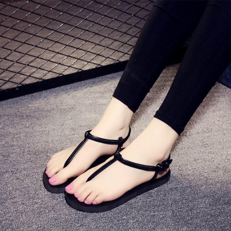 Sandal xỏ ngón thoáng mát êm chân DG4 + tắng kèm thẻ tích điểm Trangstore