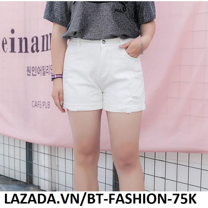 Quần Sọt  Đùi Nữ Kaki Coton Co Dãn Thời Trang Hàn Quốc Mới - BT Fashion