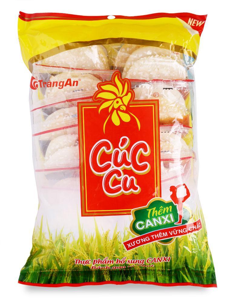 Bánh Gạo Vị Ngọt Cúc Cu - Gói 130 G