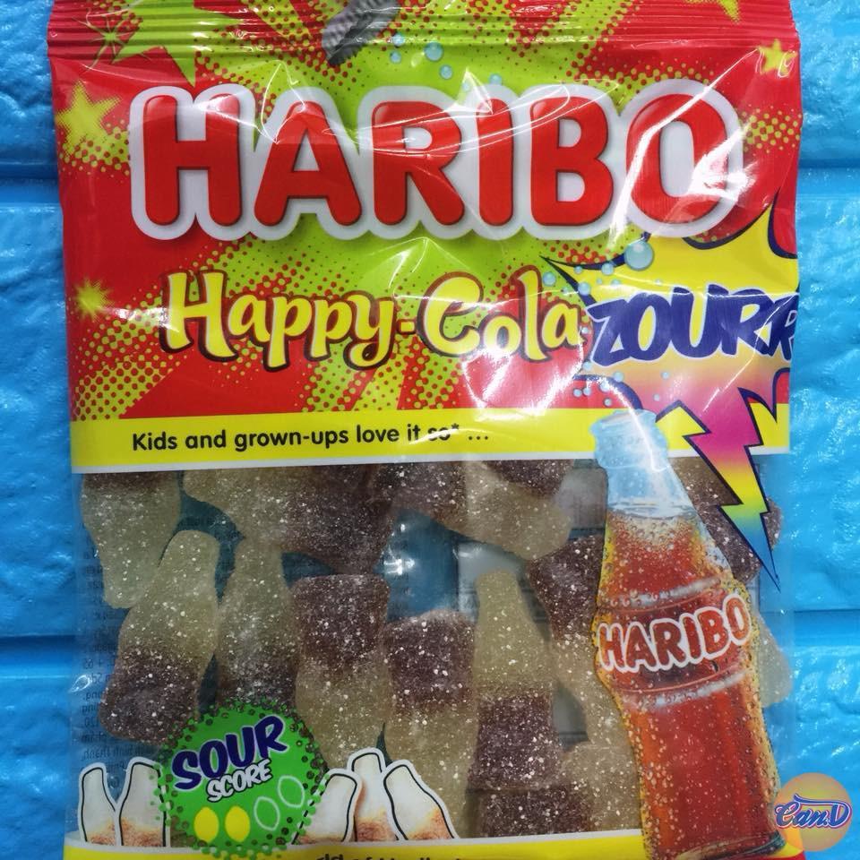 Kẹo dẻo Haribo Happy Cola Sour