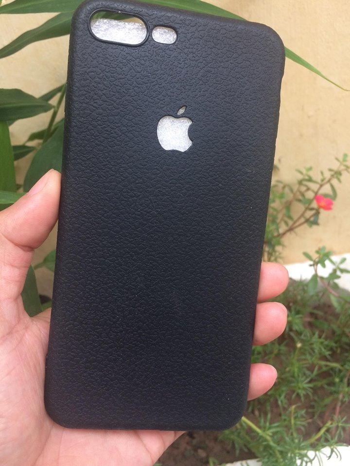 Giảm 42 ốp Lưng Giả Da Loại Xịn Cho Iphone 7plus Màu đen