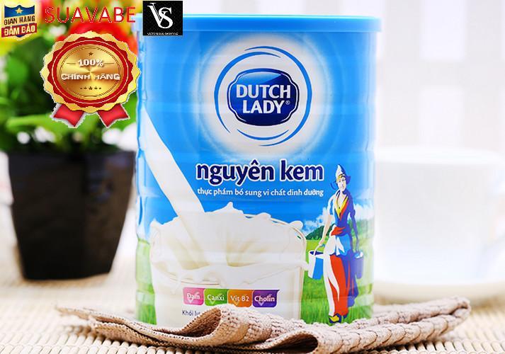 Sữa bột nguyên kem Dutch Lady Cô gái Hà Lan - 900g