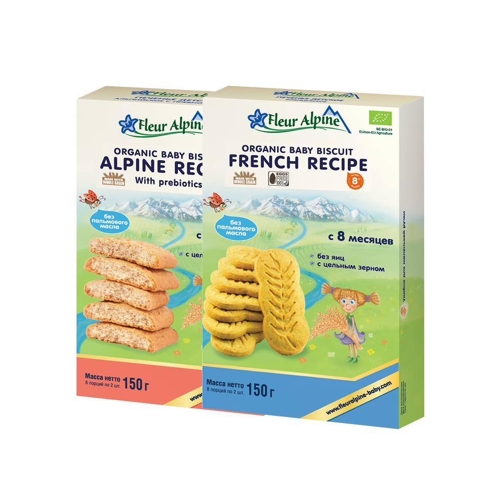 Combo bánh quy Organic Châu Âu