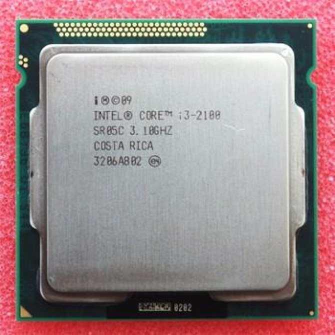 Hình ảnh CPU I3 2100