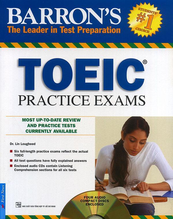 Barron's TOEIC - Practice Exams (kèm 4 CD)