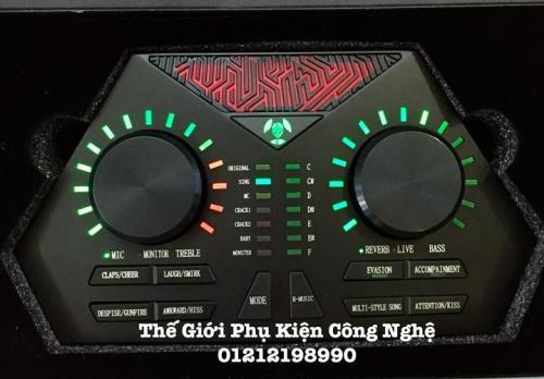 Soundcard 730 MAX tuyệt đỉnh karaoke online - autotune - giả giọng