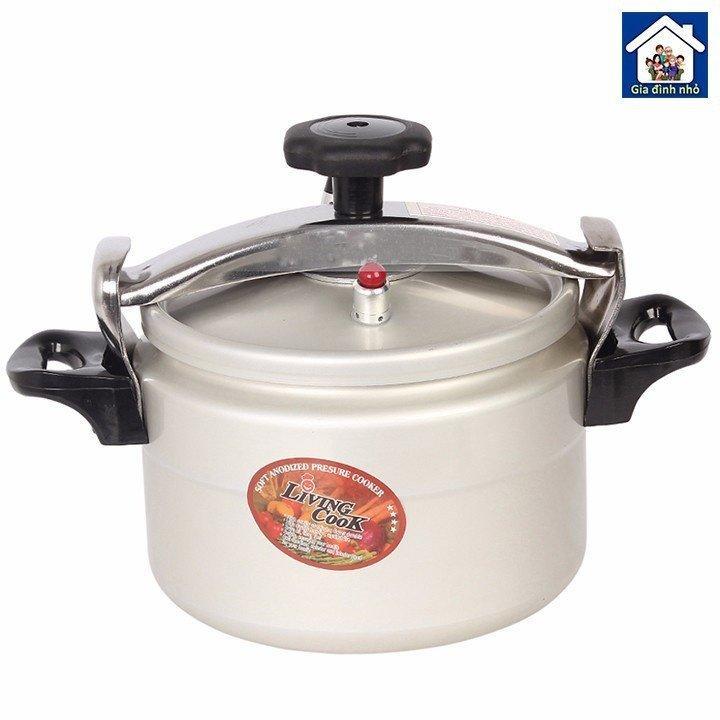Nồi áp suất đáy từ Livingcook LC-AS (bạc)