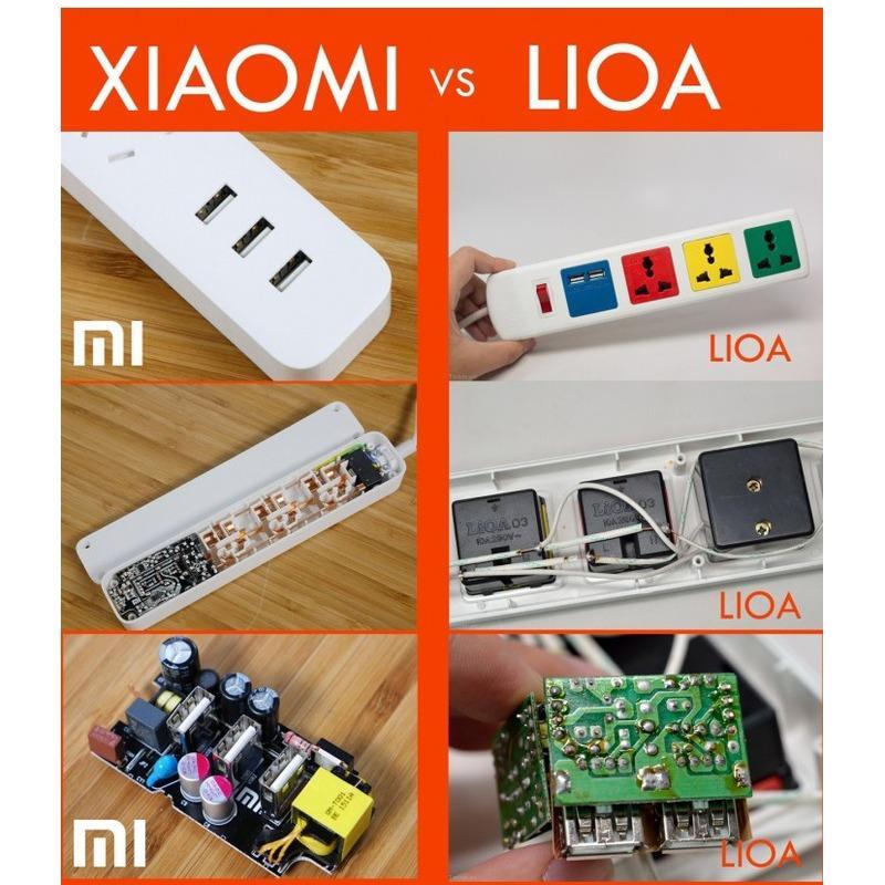 Ổ cắm thông minh Xiaomi Mi Power Strips (Đen)