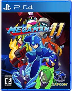 Đĩa game ps4 Megaman 11 hệ EU thumbnail