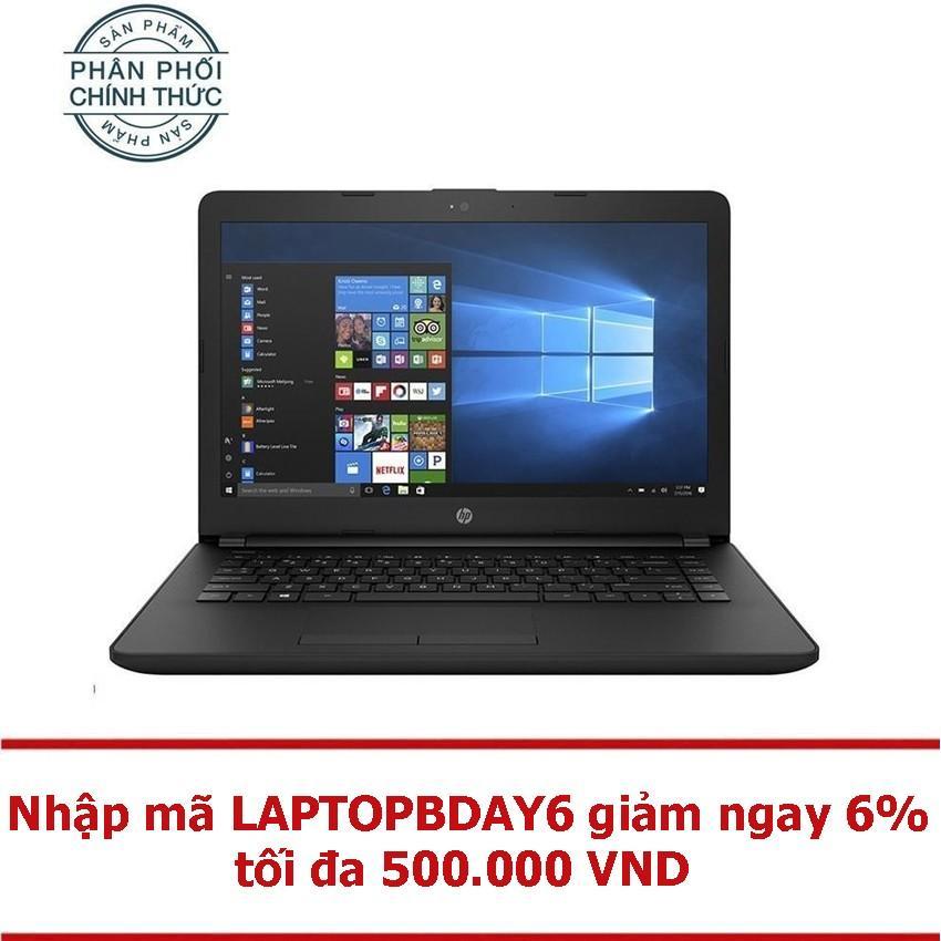Laptop HP 14-bs561TU 2GE29PA Core P-N3710U Ram 500GB UMA 14.0' Dos (Đen) - Hãng phân phối chính thức