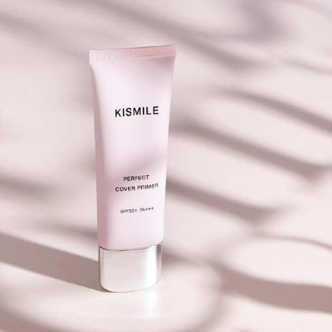 Image result for Kem lót siêu mềm mịn Kismile Perfect Cover Primer SPF50+