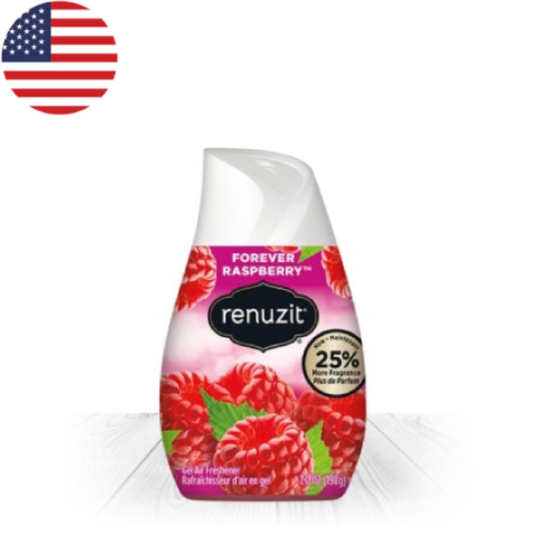 Sáp thơm phòng  Renuzit Forever Raspberry 198g - Nhập khẩu Mỹ