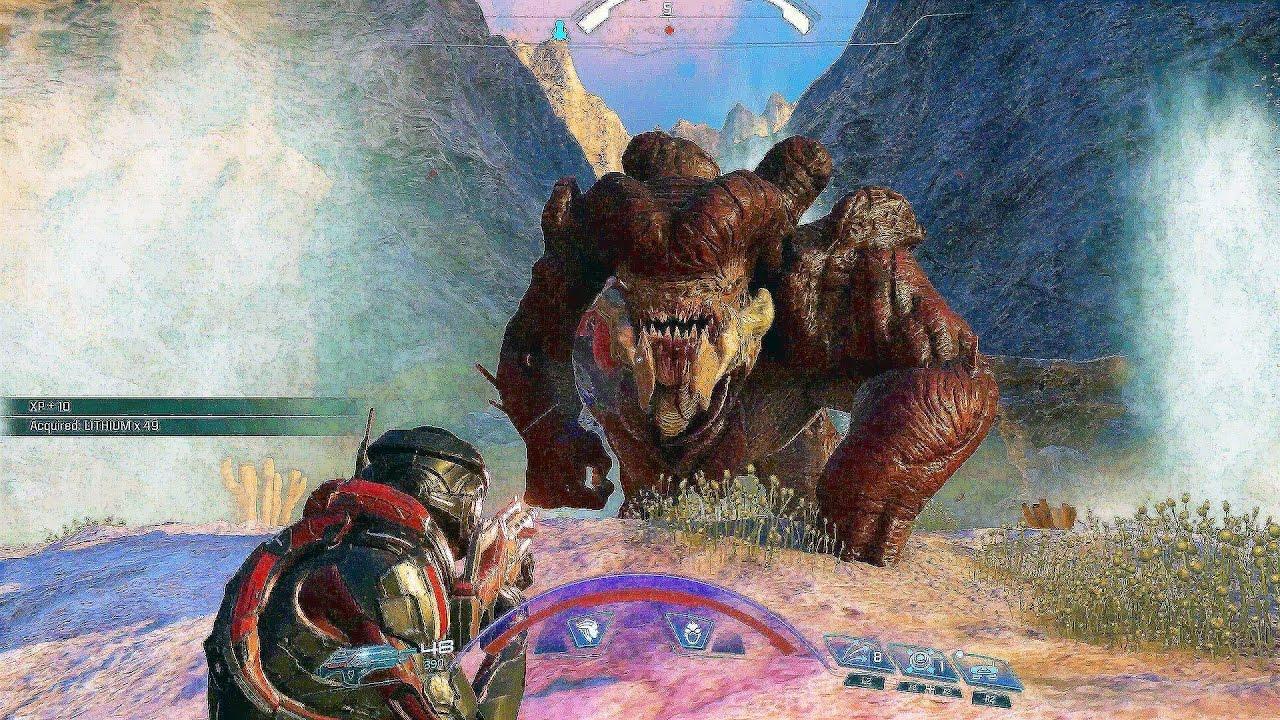 Đĩa Game Ps4 Mass Effect Andromeda Hệ Us