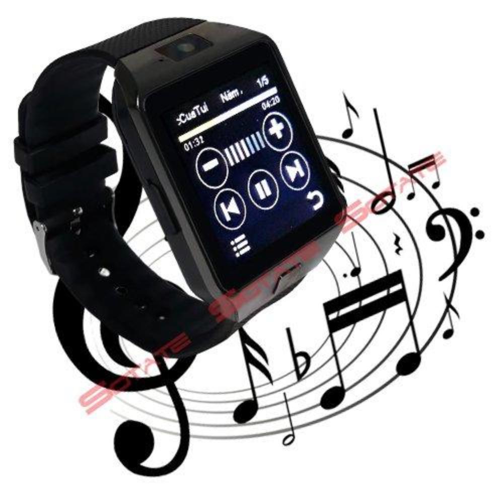 Đồng hồ thông minh SMARTWATCH giá rẻ DZ09 - BLACK.9 (Đen)