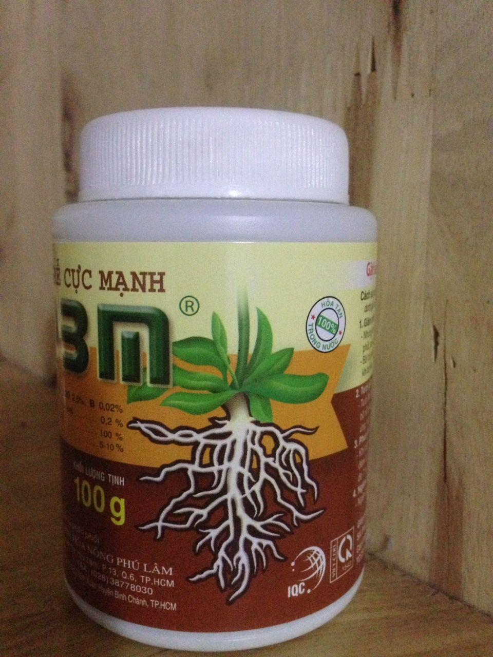 2 lọ Kích thích ra rể N3M dùng cho Phong Lan ,Bón Sai , Hoa kiểng lọ 100 gram