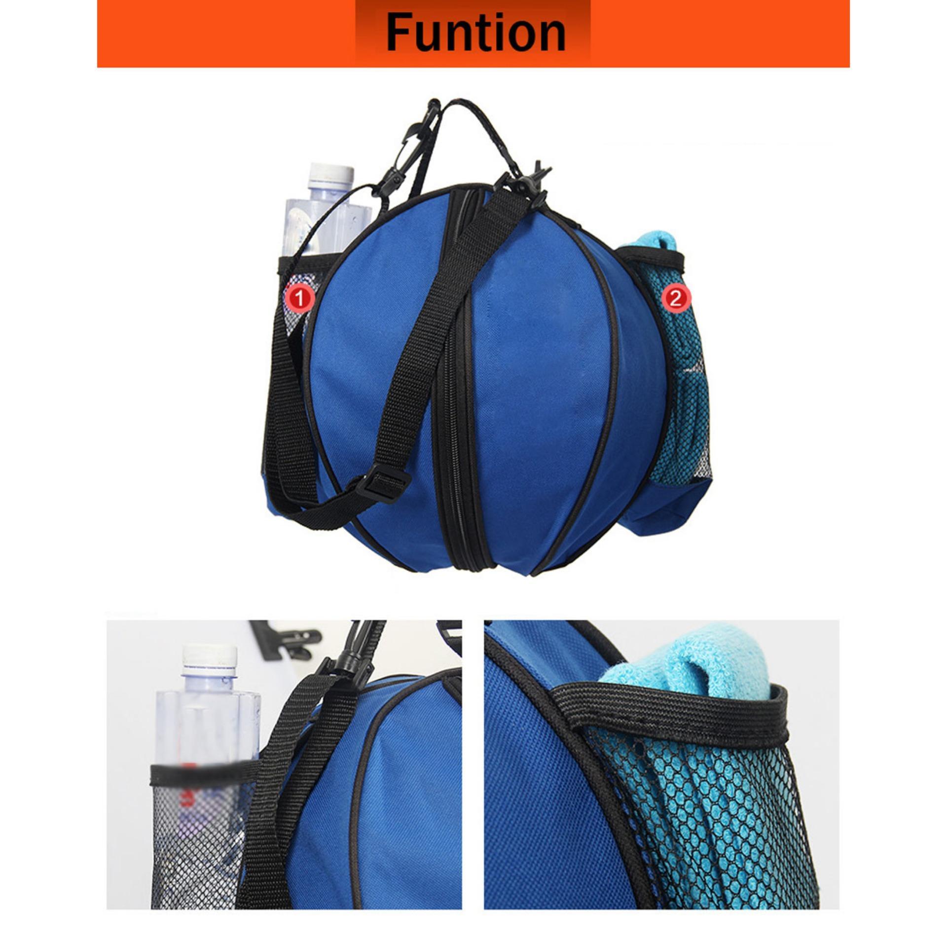 Túi đựng bóng rổ, có ngăn đựng bình nước, ngăn nhỏ đựng phụ kiện chất liệu cao cấp POPO Sports - 7